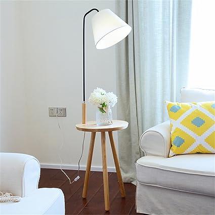 WQRTT Lámpara de pie IKEA Moderna Sala de Estar Estudio ...