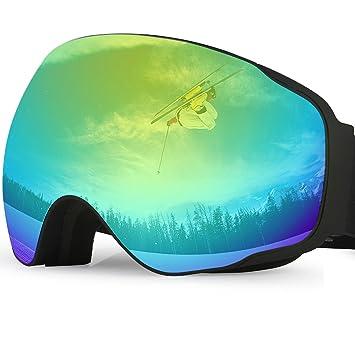 goggles snowboard  Amazon.com : UShake Ski Goggles, Snow Goggles, Snowboard Goggles ...