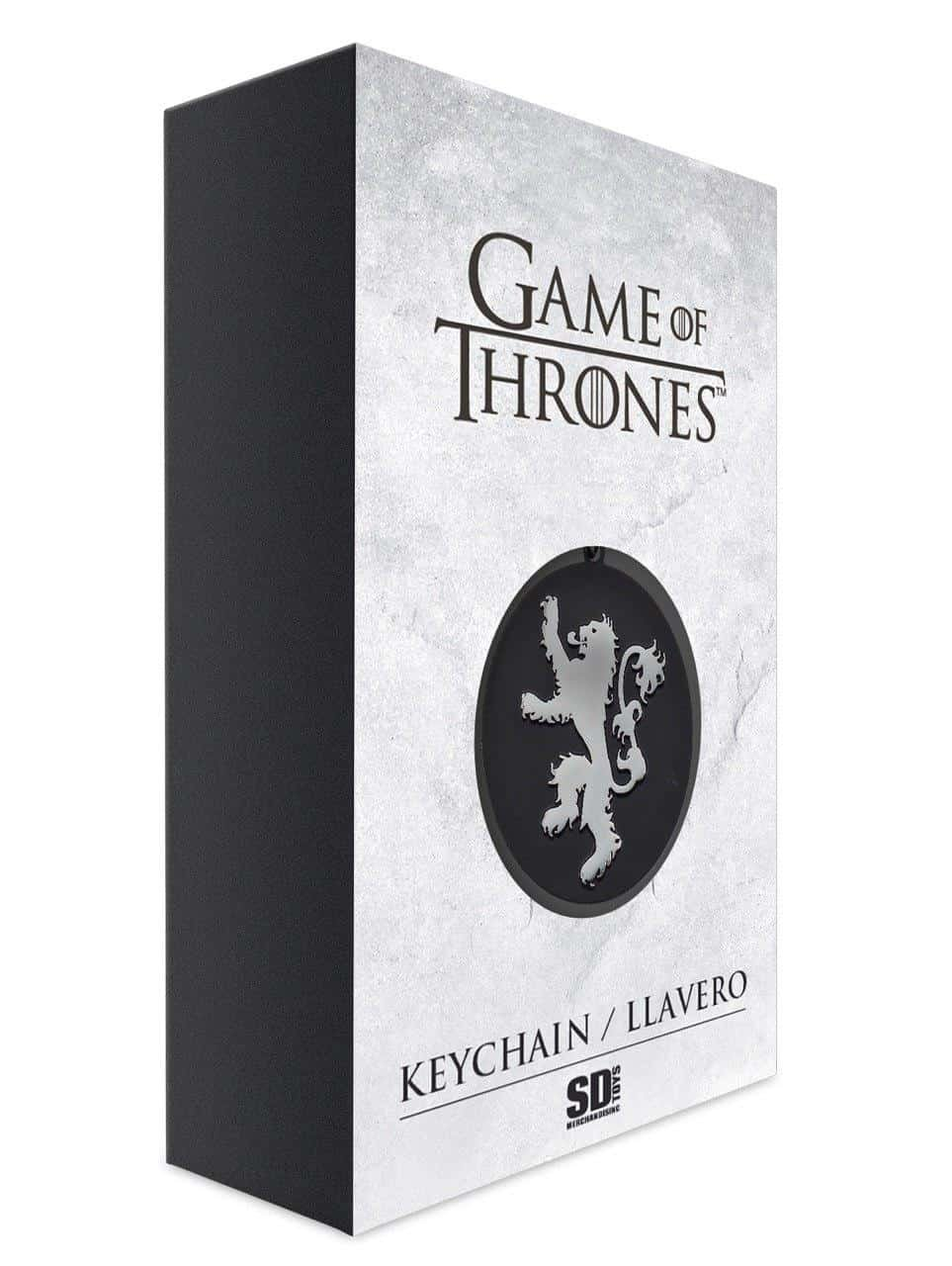 Amazon.com: Game of Thrones Keychain Lannister Logo: Toys ...