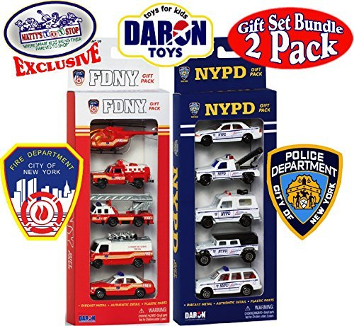 Daron FDNY (Fire Department City of New York) & NYPD (New York City Police Department) Emergency Vehicles