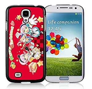 Personalized Samsung S4 TPU Protective Skin Cover Merry Christmas Black Samsung Galaxy S4 i9500 Case 75