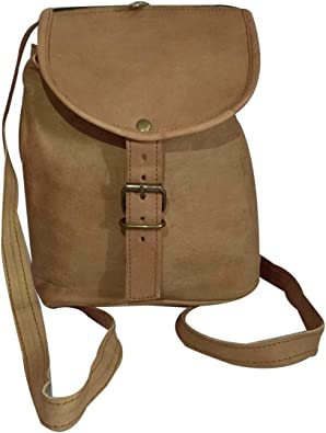 India Meets India Handicraft Genuine Leather Backpack Travel Bag College School Bag Laptop Bag Best Gifting Made By Awarded Indian Artisan