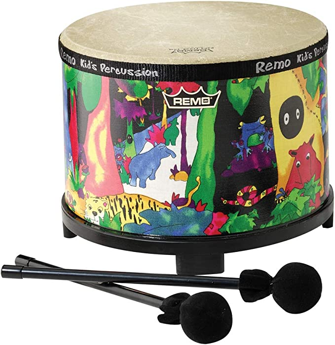 First Act FP6215 Floor Tom with Mallets Kids Musical Toys