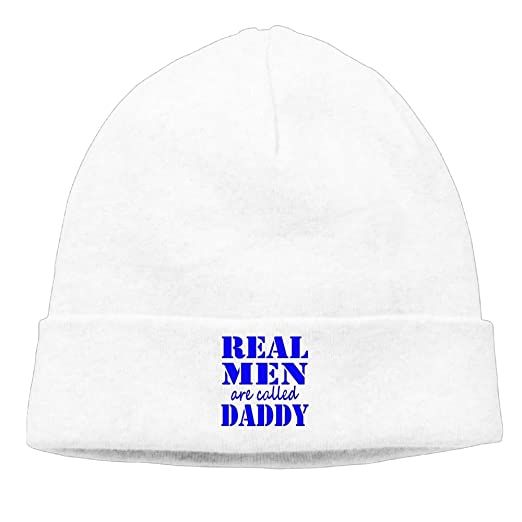Lixiaoyan Real Men are Calledd Daddy.Knitted Cap Trendy Warm Chunky Soft  Stretch Cable Knit Slouchy Beanie Hatwhite at Amazon Men s Clothing store  deeeee90398