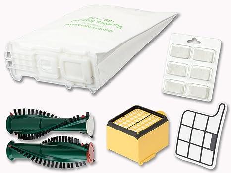 6 Filtertüten Beutel Vlies geeignet Vorwerk Kobold 135 136 6 Duft Filter