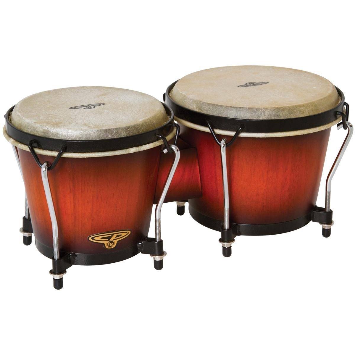 Latin Percussion CP221VSB Traditional Bongos - Vintage Sunburst