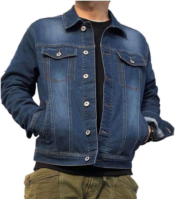 [At Marvelous] Gジャン メンズ デニムジャケット アウター 羽織 ストリートファッション (ST/No.25009)