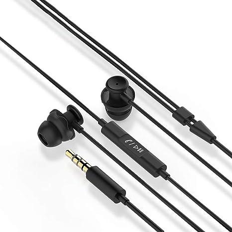 Noise Isolating Headphones, Tantu Sleep Earbuds with