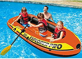 Intex Explorer Pro 300 inflatable boat by Intex: Amazon.es ...
