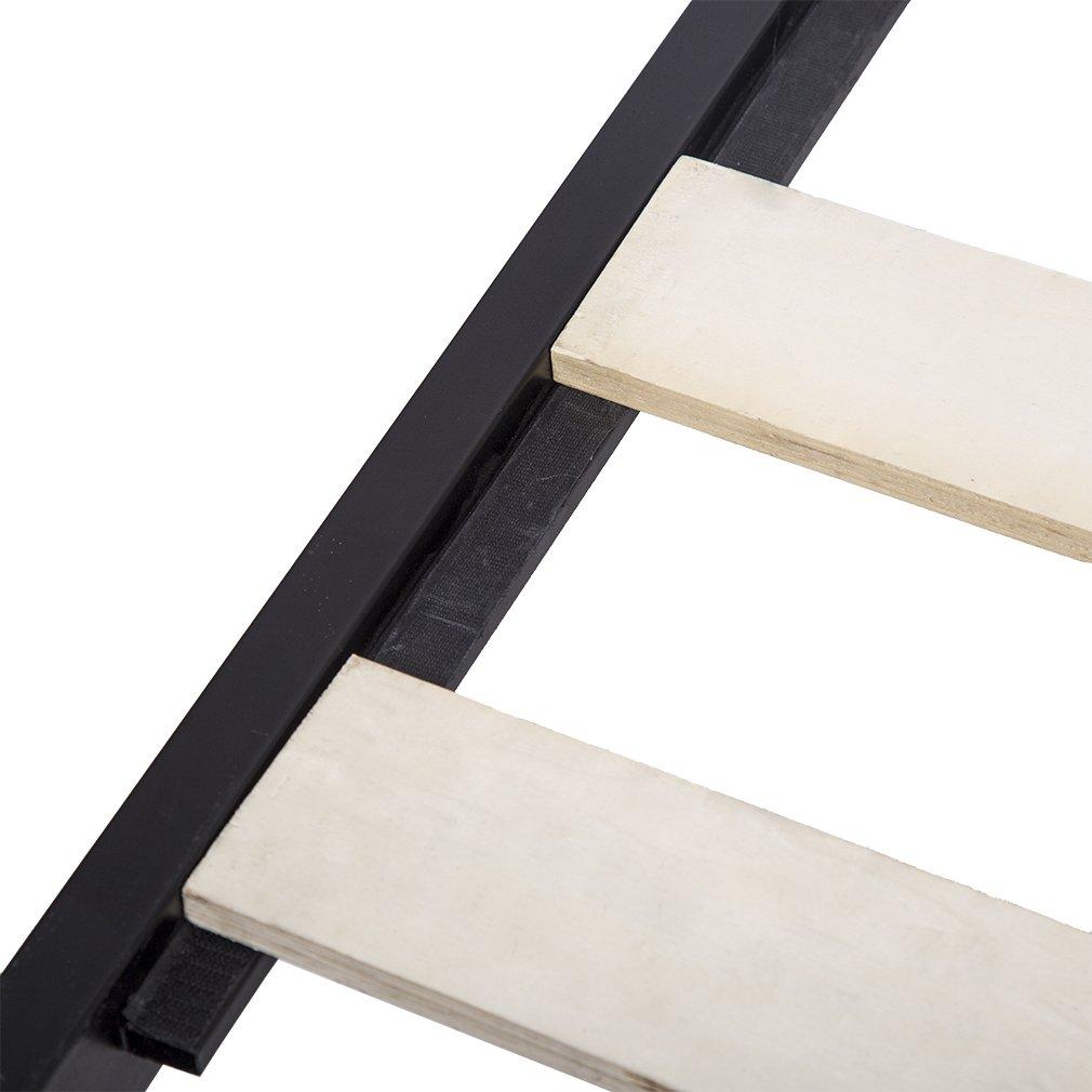 Bed Frame Metal Platform Bed Frame 14 Inch Heavy Duty Wood Slat Steel Frame Twin Size by BestMassage (Image #7)