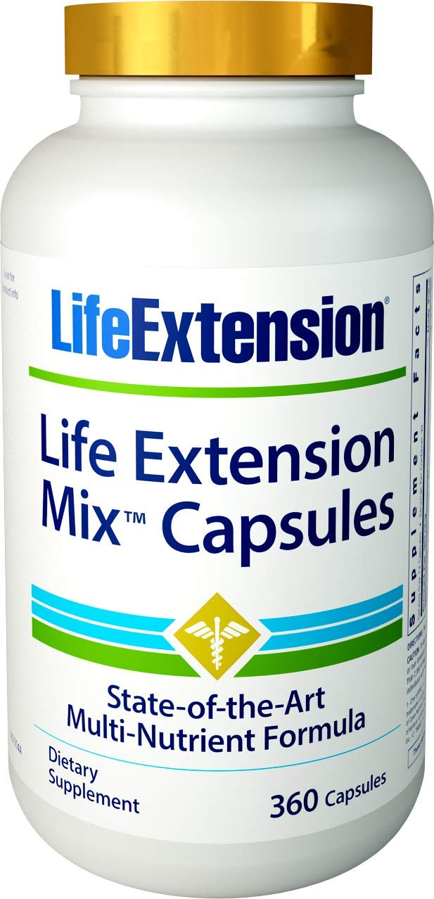 Life Extension Mix Multi-Vitamin , 360 Capsules