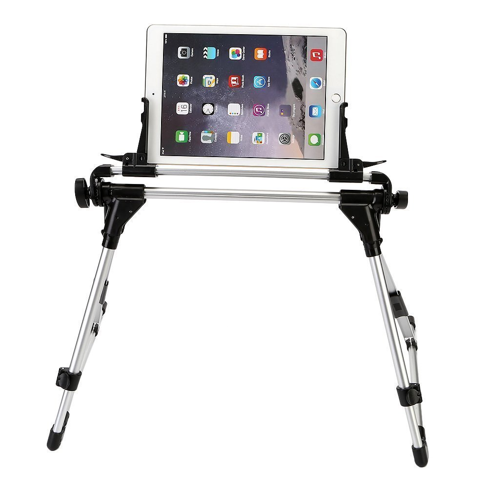 ieGeek Tablet Phone Stand Holder, Adjustable Bed Frame Holder Foldable Floor Mount Desktop Lazy Bracket Universal for Cell Phone Smartphone Tablet, for Bed, Desk, Sofa, Car, Bedroom, Kitchen, Office