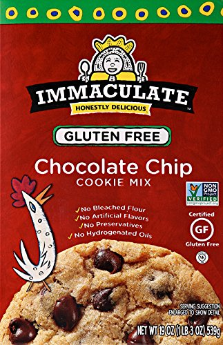 Immaculate Baking Gluten Free, Non-GMO Cookie Mix Chocolate Chip, 19 oz