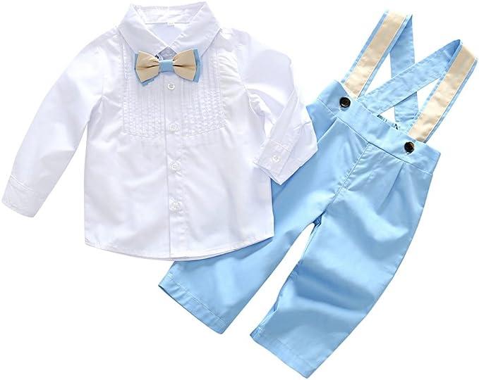 Brightup Conjuntos Pantalones + Superiores, Bebés niños trajes de ...