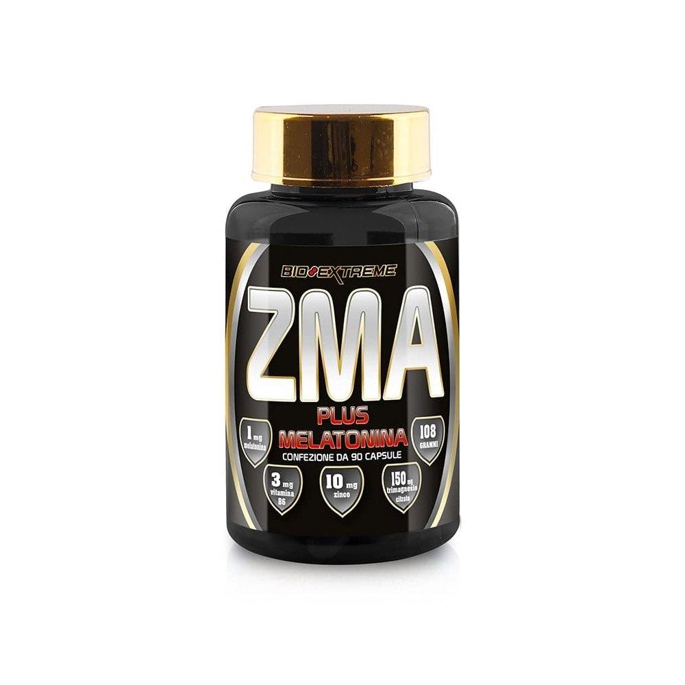 BIO EXTREME ZMA PLUS MELATONINA 90 CPS: Amazon.es: Salud y cuidado ...
