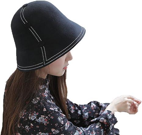 AJ_E0 Sombrero del Sombrero de Lana del otoño y del Sombrero de la ...