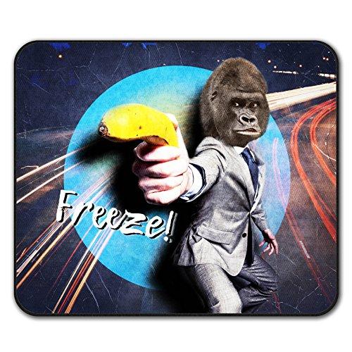 Banana Costume Gorilla (Gorilla Gun Beast Animal Monkey Banana Non-Slip Mouse Pad 24cm x 20cm |)