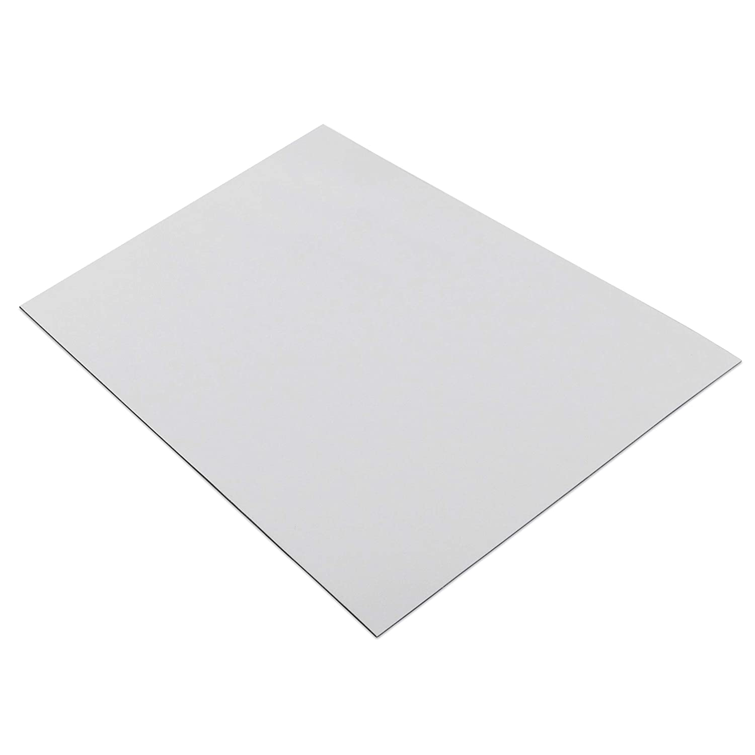 08505 White Vinyl Back 24 Long 12 Wide Master Magnetics Magnet Sheet Magnetic Paper