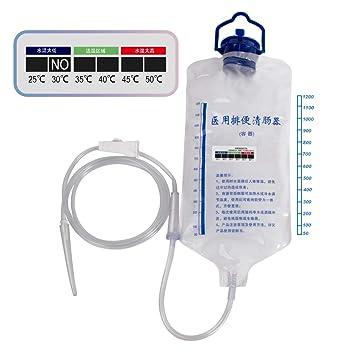 Amazon Com 1 2l Enema Bag Cleansing Kit Reusable Colon Enema Kit