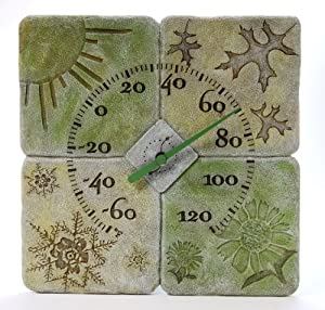 Four Seasons Polyresin Thermometer
