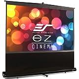 シネホワイト素材 120インチ クイックスタンド Q120H1 エリートスクリーン プロジェクタースクリーン (16:9)