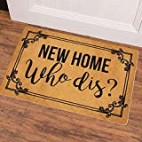 Ruiyida New Home Who Dis Welcome Doormat Custom
