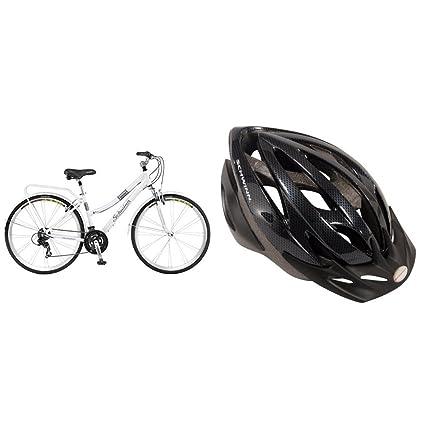 7088ade17b0 Amazon.com : Schwinn Discover Women's Hybrid Bike (700C Wheels), White, 28