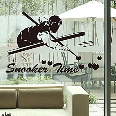 HCCY Deportes Gimnasio Billar Wall Sticker animación Signos Tienda ...