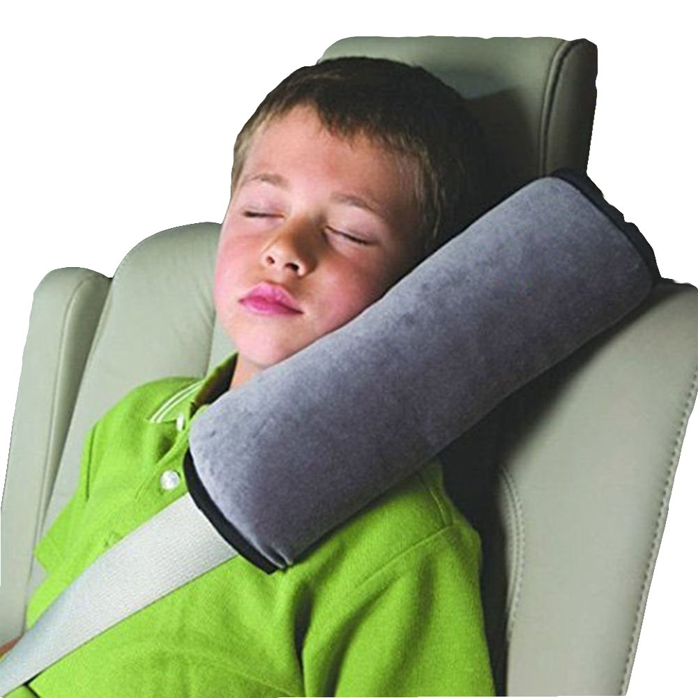Wicemoon Auto Pillow Car Safety Belt Protect Shoulder Pad Pillow Adjust Vehicle Seat Belt Cushion for Kids Children