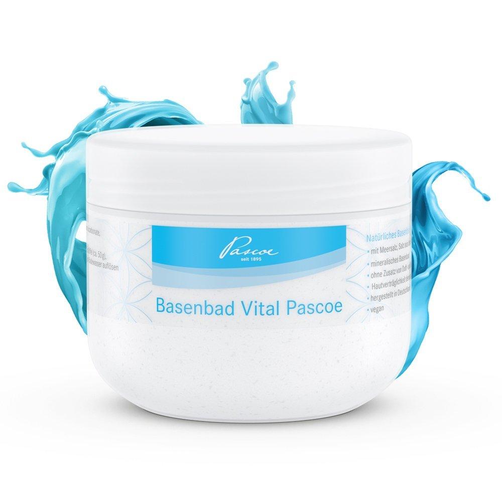 Basenbad Vital Pascoe | ohne Duft-& Farbstoffe | made in Germany | 500g Pascoe Vital GmbH