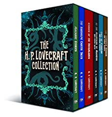 This slip-cased box set is a collection of H. P. Lovecraft's entire output―in six volumes. This collection includes everything from his early macabre stories to his tales of the dreamlands, and of course, his famous Cthulhu novellas. First wr...