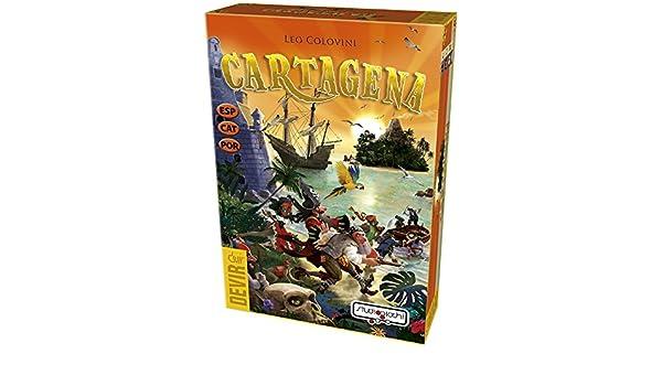 Amazon.com: Devir – Cartagena, Table Game (bgena): Toys & Games