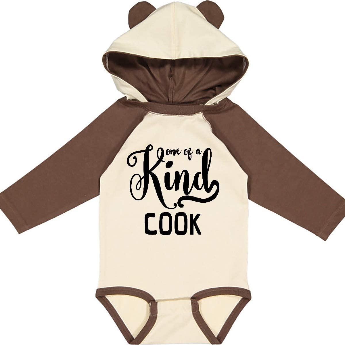 inktastic Gift for Cook 1 of a Kind Cook Long Sleeve Creeper