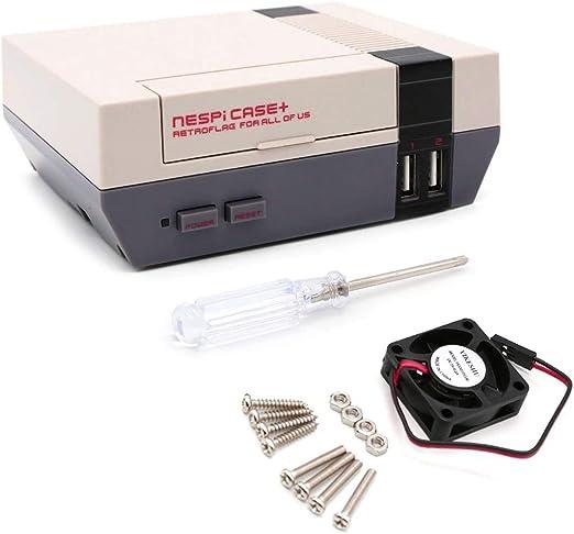 Yikeshu Nes Functional Power Reset Button Retroflag Case Nespi Case Raspberry Pi 3 2 And B