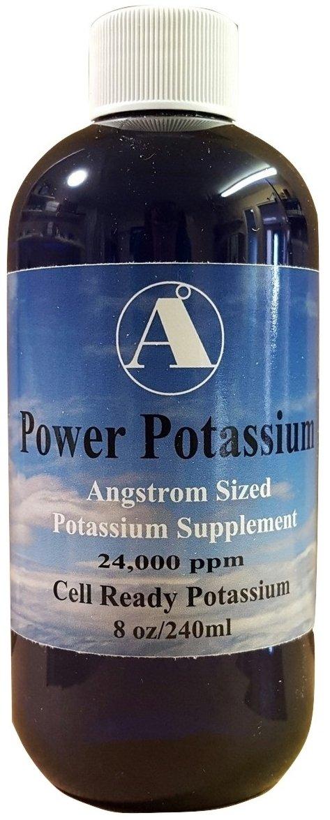 Liquid Potassium Supplement by Angstrom Minerals 8oz bottle 24,000ppm Power Potassium