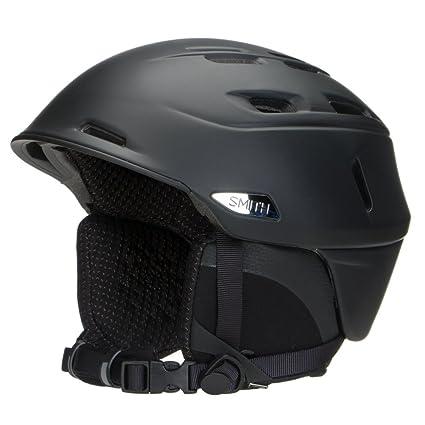 3a93a3eb84 Smith Optics Unisex Adult Camber Snow Sports Helmet - Matte Black Small  (51-55CM