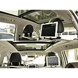 Generic HR1+HLD 11 Headrest Mount Car Seat Back Holder with 360 Degree Rotating Travel Kit for Tablets