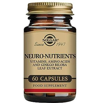 Solgar Neuro Nutrientes - 60 Cápsulas: Amazon.es: Salud y cuidado personal