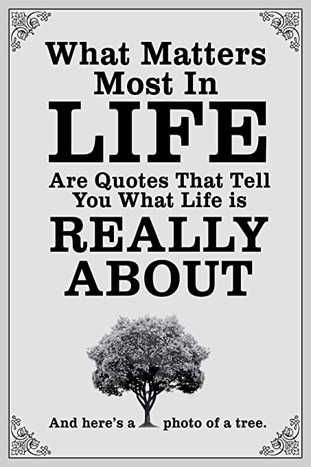 Amazoncom What Matters Most In Life Are Quotes White Poster 12x18