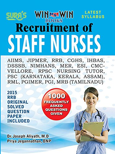 Amazon in: Buy Complete Study Material of Staff Nurse Recruitment