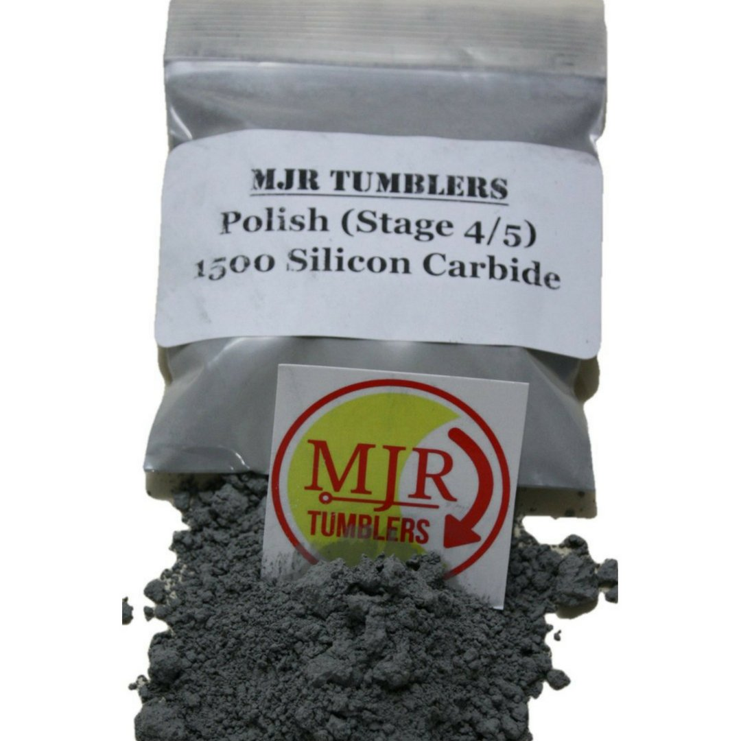 MJR Tumblers 5 lb Silicon Carbide 1500 Rock Grit Polish by MJR Tumblers