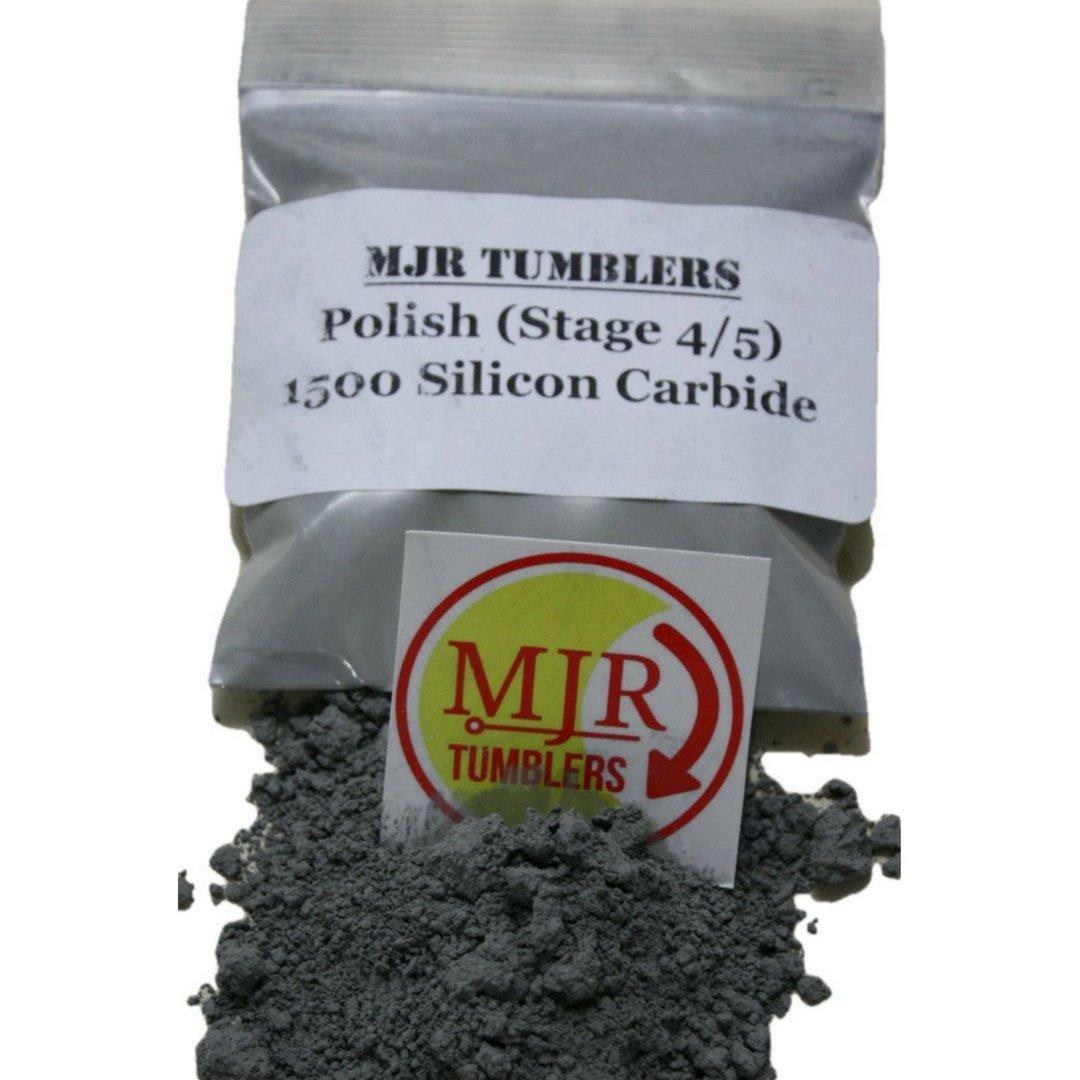 MJR Tumblers 1/2 lb Silicon Carbide 1500 Rock Grit Polish