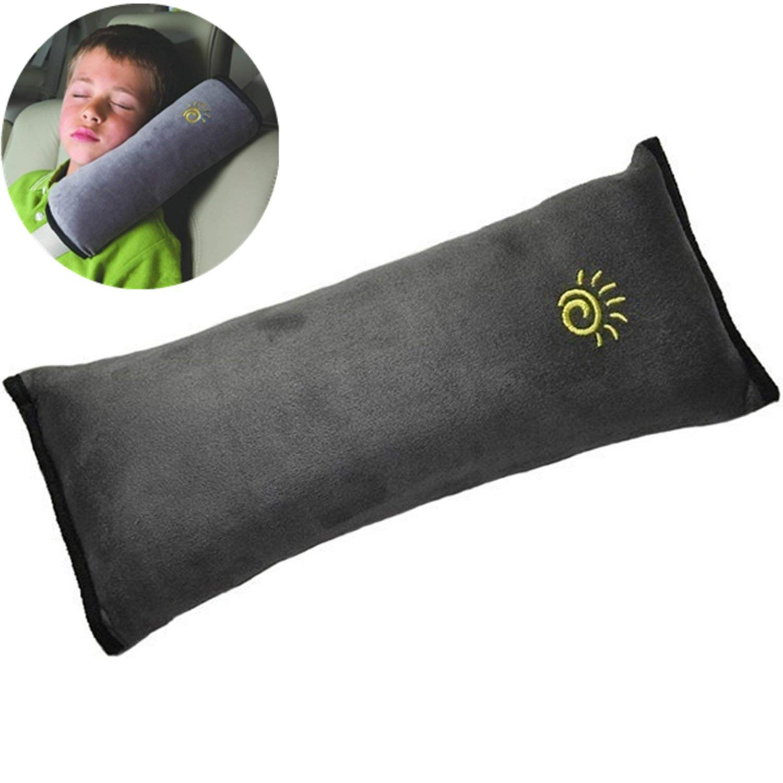 ASUMAN Kinder Auto Pl/üsch Sicherheitsgurt Kissen Sicherheitsgurt Kopfst/ütze Schutz Schulter Kopf Auto Nackenschutz Kissen Schultergurt Schutz Pad