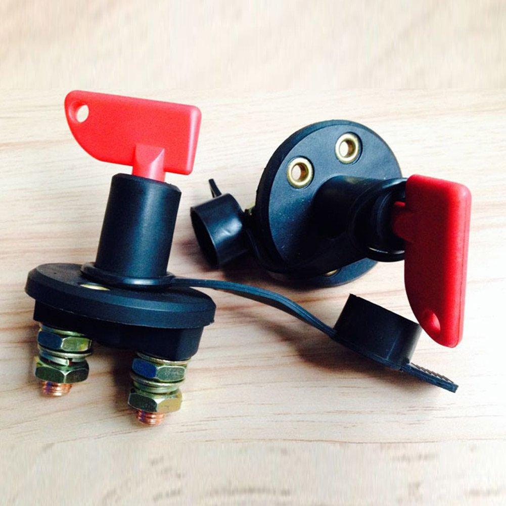 2/chiavi e copertura Ferrell interruttore stacca batteria Cut off Disconnect Power Kill 60/V