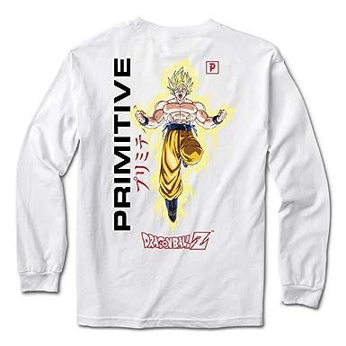 b04c95b4 Amazon.com: Primitive Skate x Dragon Ball Z Long Sleeve Graphic T Shirts  Collection for Men: Clothing