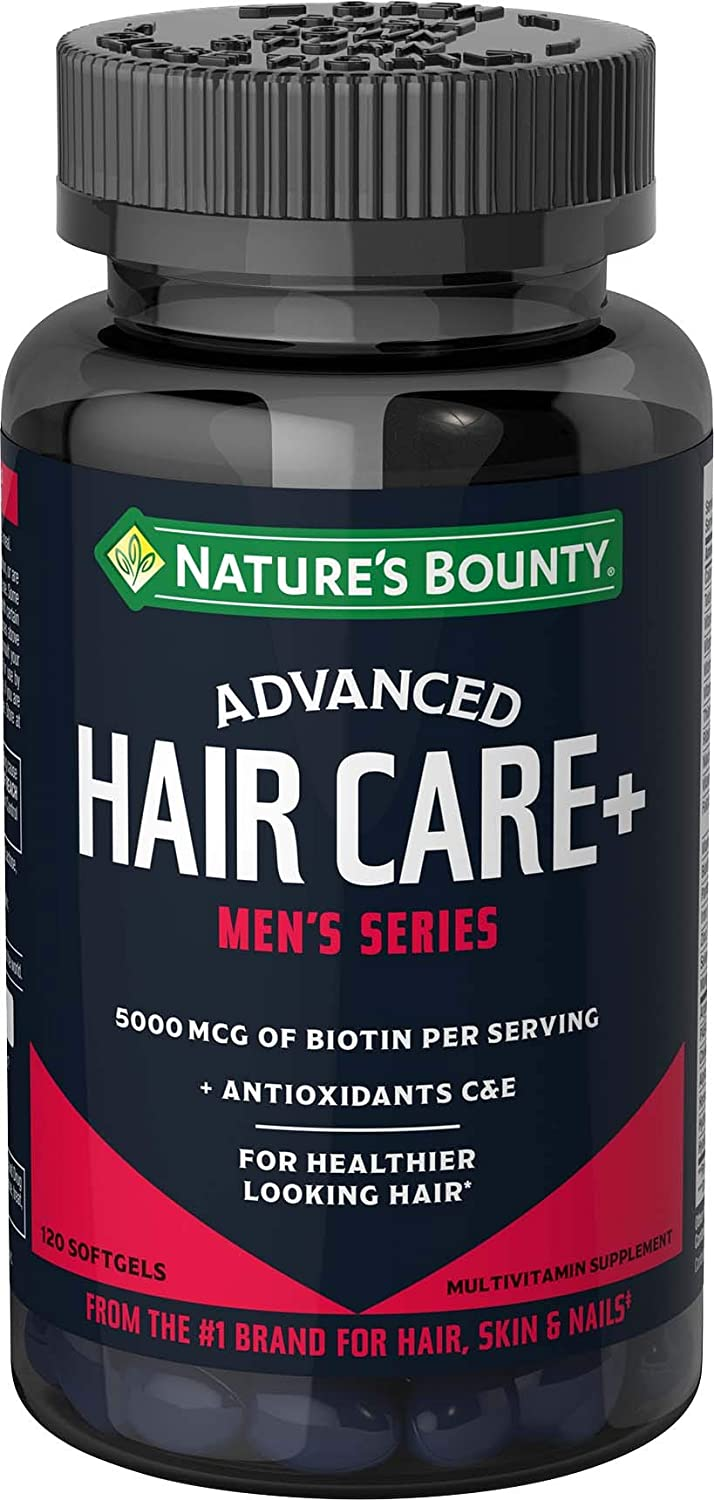 Nature's Bounty Advanced Men's Series Hair Softgels
