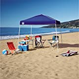 10 By 10 Feet Blue Tent Gazebo 10' x 10' Instant Canopy Outdoor Event Cover with a Roll Away Bag for Sporting Event Beach Backyard Picnic Camping