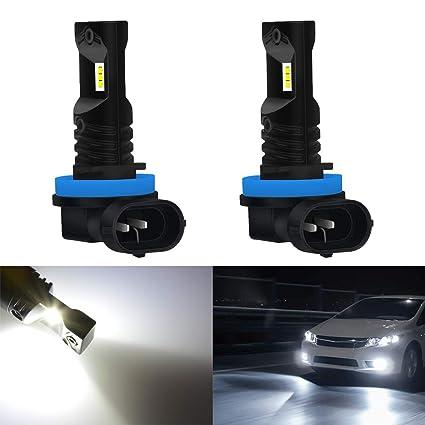 3 Jahre Garantie 80W // 1600LM // 6500K verbesserte Version KaTur Automobil Xenon Wei/ß 881 Drving-Nebelscheinwerfer f/ür Tagfahrlicht mit TOP-Advanced-CSP-Chips