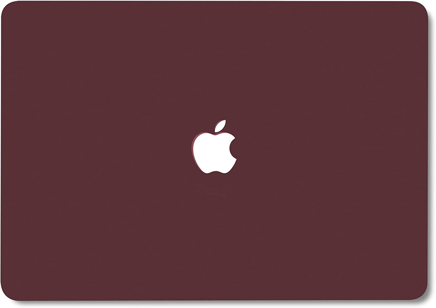 Anti Dust Plugs Logo Cutout Hard Shell Privacy Webcam Cover Slide GMYLE MacBook Pro 13 Inch Case 2018 2017 2016 Release A1989 A1708 A1706 with Touch Bar Keyboard Cover Screen Protector Burgundy