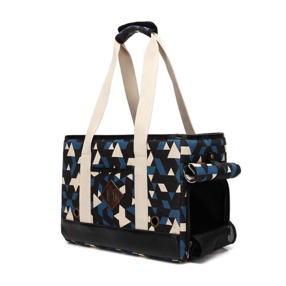 A One-Shoulder Pet Bag Portable Pet Bag Size 41  18  28Cm,A